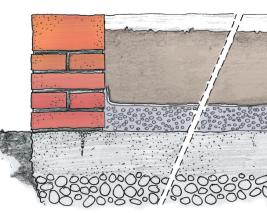 fioriera in muratura