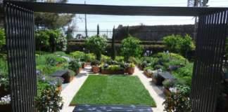 giardino in marzo