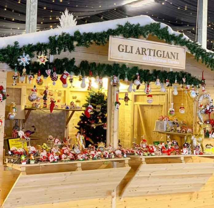 christmas garden caravaggio