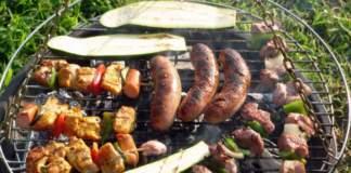 barbecue grigliata carne verdure