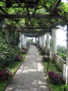 ombra berceaux giardino