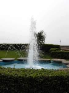 laghetto gioco d'acqua fontana