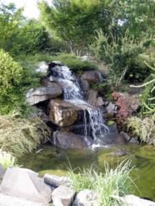 laghetto cascata