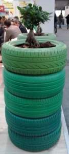 ecosostenibilità pneumatici portavasi