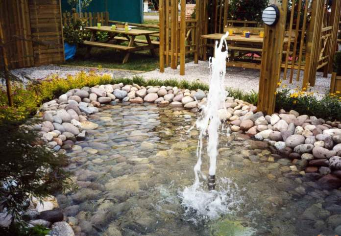 fontana gioco d'acqua