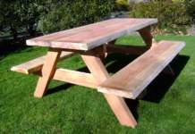 mobili giardino panca