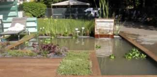 laghetto in giardino marzo